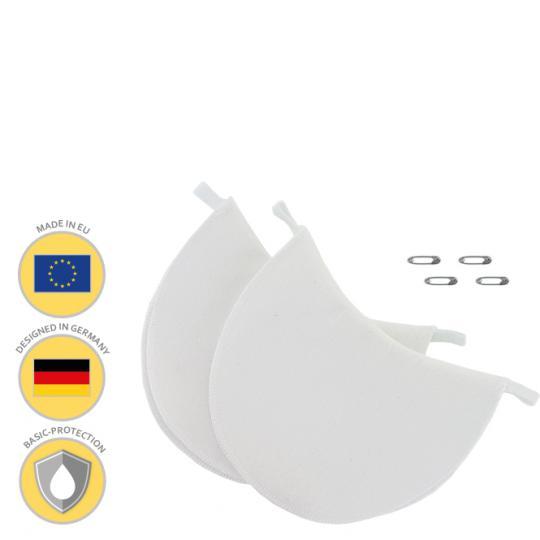 MANJANA® PATCHES ANTI-AUREOLES lavables - contre les tâches de transpiration aux aisselles - convenant à tout haut