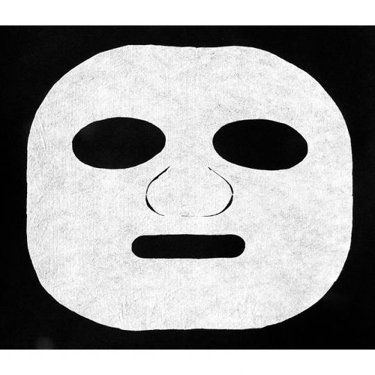 Masque visage en viscose Badestrand infiltration de substances active