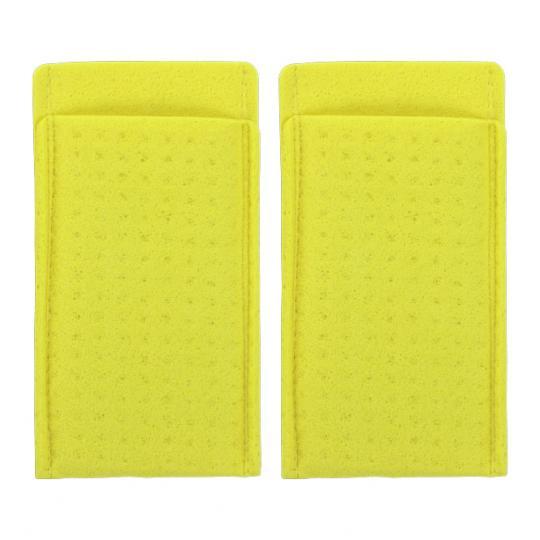 Sachets spongieux pour aisselles + électrodes peut être utilisé en combinaison avec le dispositif SweatStop® Ionophorèse sous les aisselles
