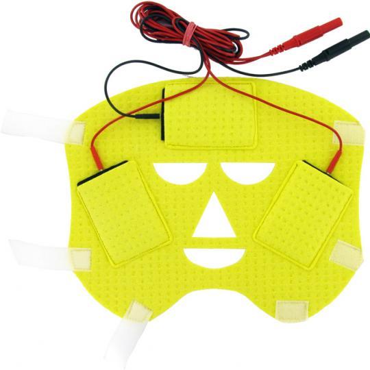 Electrode visage contre la transpiration du front à utiliser en combinaison avec le dispositif SweatStop® Ionophorèse