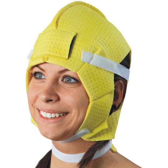 Electrode pour la tête, le cou et le front contre la transpiration excessive