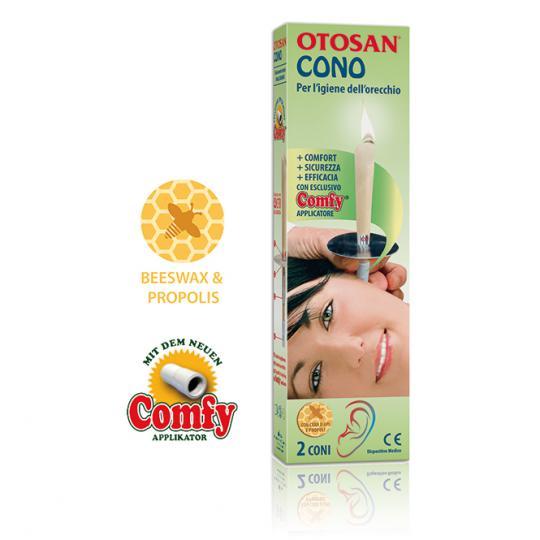 Bougie d'Oreille Otosan® élimine le cérumen résout les problèmes comme les sifflements, les bruits de fond