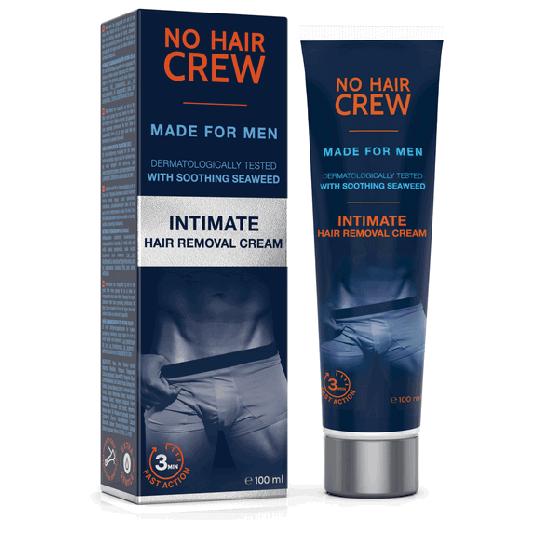 NO HAIR CREW Crème dépilatoire intime - pour hommes