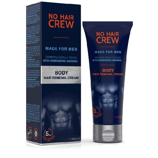 NO HAIR CREW Crème dépilatoire corps - pour hommes