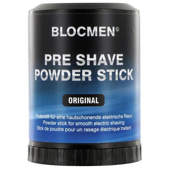 Stick de poudre avant-rasage BLOCMEN© Original, menthol rafraîchissant