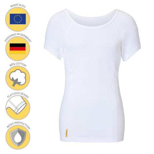 Homme-U-classic-shirt MANJANA® pour les hommes avec une protection des aisselles anti-transpiration généreusement intégrée fabrication de haute qualité