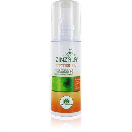 Spray répulsif anti-moustiques naturel Zinzalà® prévient les piqûres d'insectes et les piqûres de moustiques